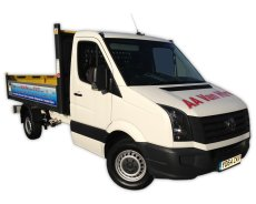 VW Crafter Tipper A8